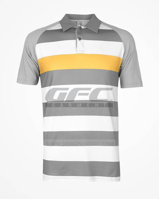 may áo thun golf tại long an