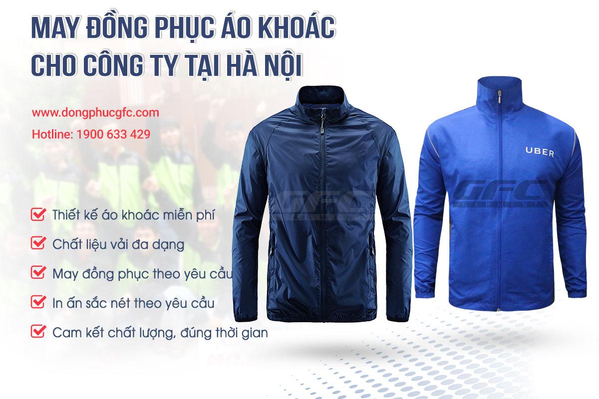 công ty may đồng phục áo khoác cao cấp, áo khoác đồng phục