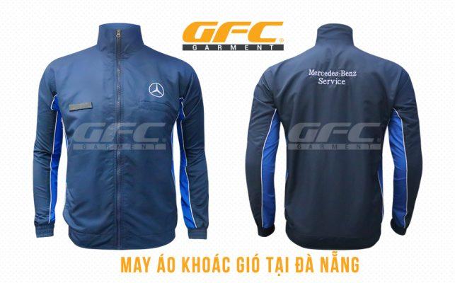 may áo khoác đồng phục đà nẵng