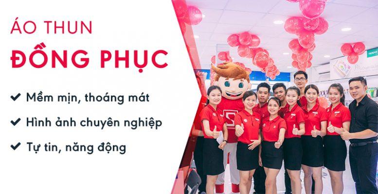MAY ÁO THUN ĐỒNG PHỤC 2019