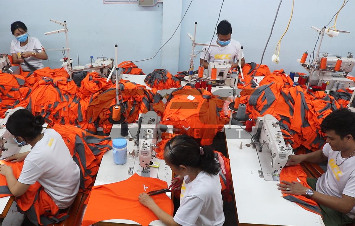 xưởng may đồng phục gfc garment