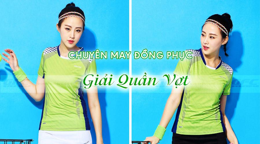 may áo thun quần vợt