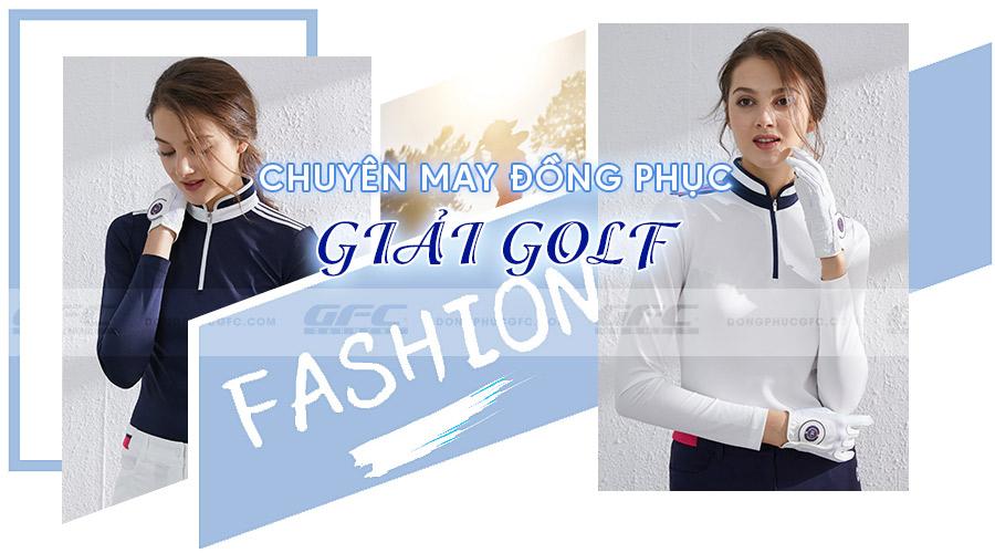 may đồng phục giải golf