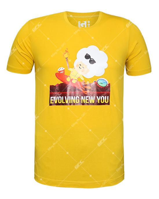 May Áo Thun Cổ Tròn T-shirt