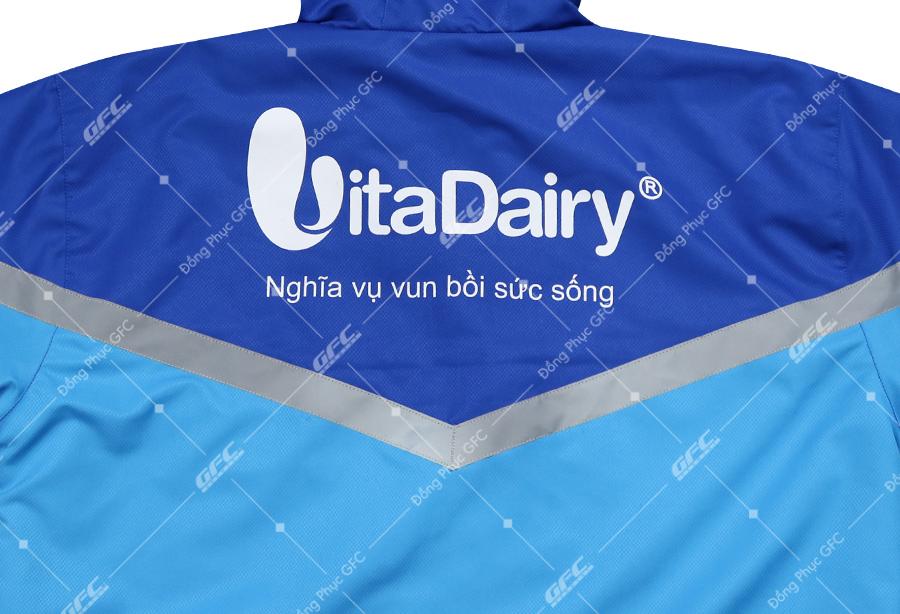 may áo khoác đồng phục công ty