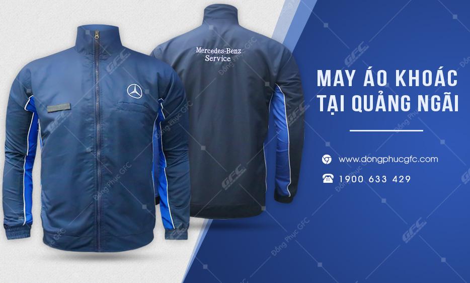 đồng phục gfc chuyên nhận may áo khoác nhân viên, áo khoác đồng phục tại quảng ngãi.