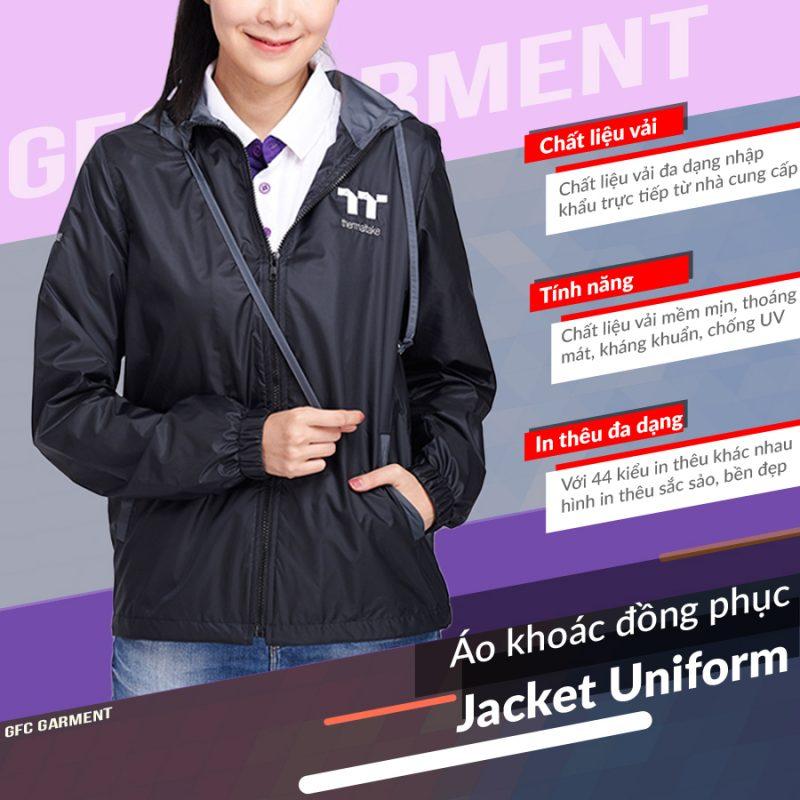 áo khoác cao cấp GFC