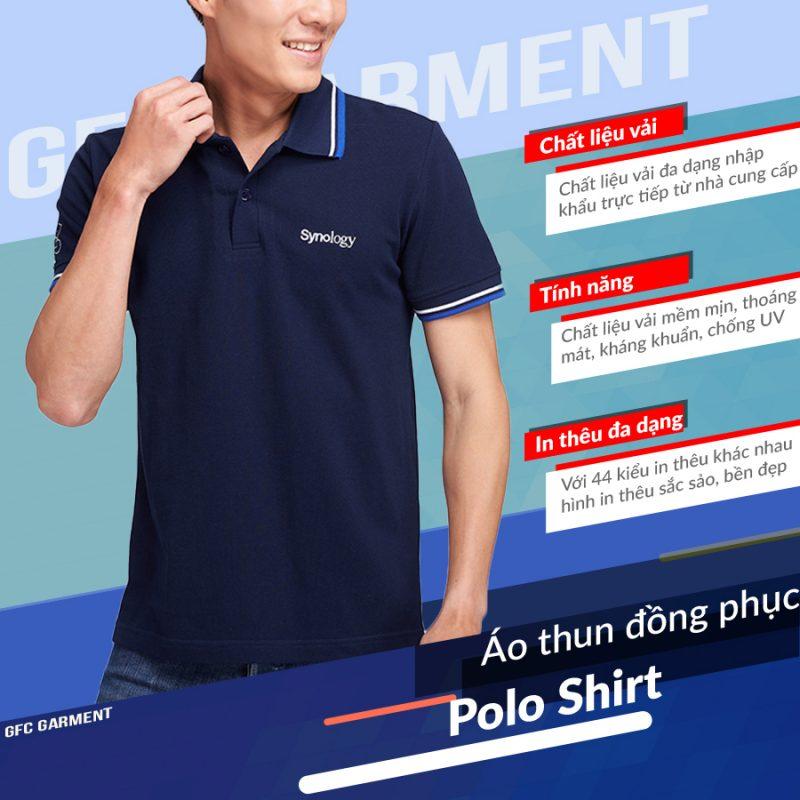 áo thun cổ polo cao cấp