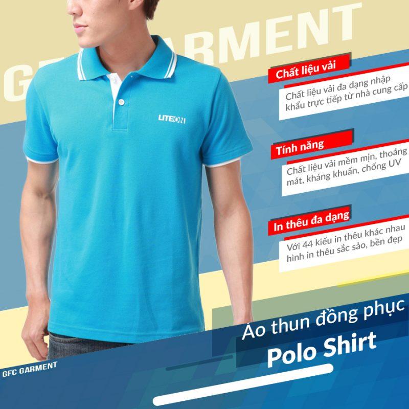 May áo thun polo cao cấp