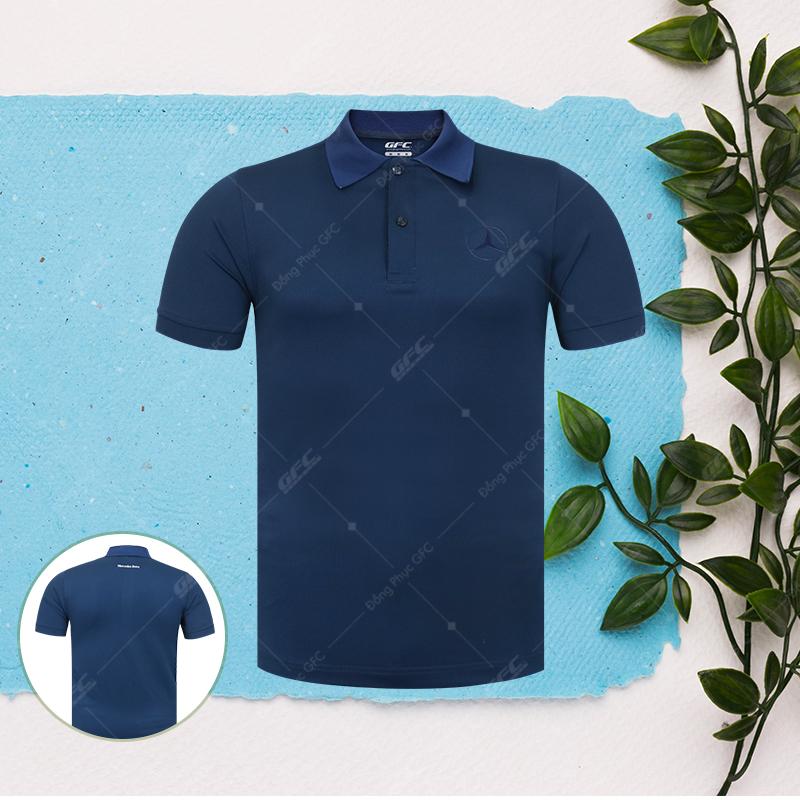 may áo thun polo đồng phục