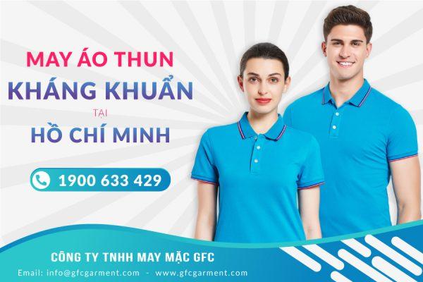 May áo thun kháng khuẩn tại Hồ Chí Minh