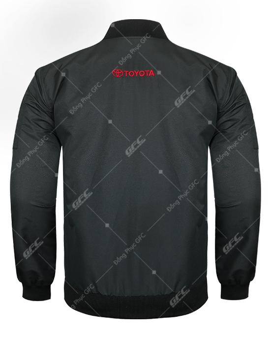 may áo khoác bomber đồng phục