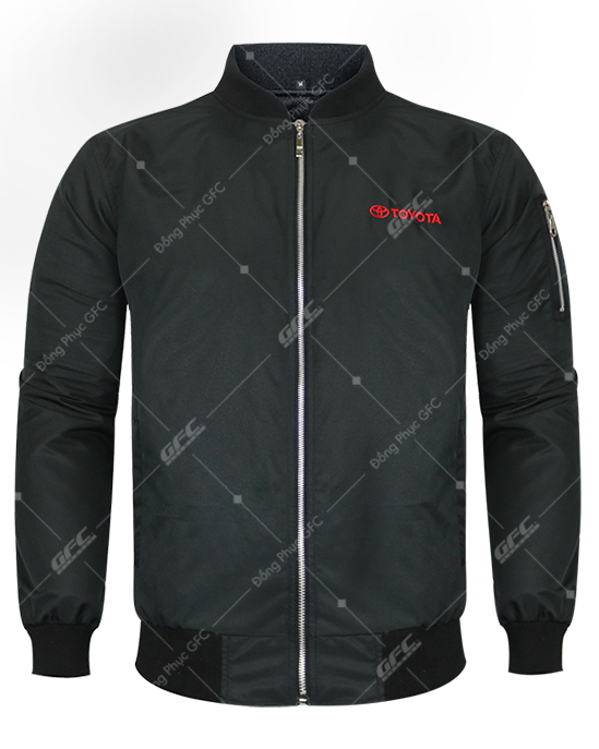may áo khoác bomber cao cấp