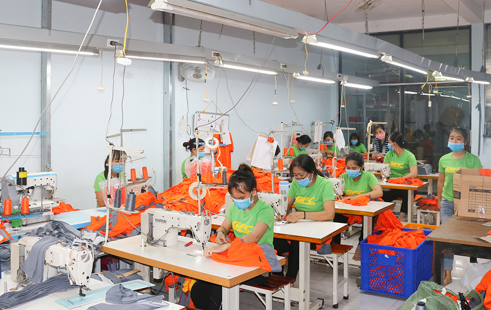 Công ty may đồng phục GFC Garment