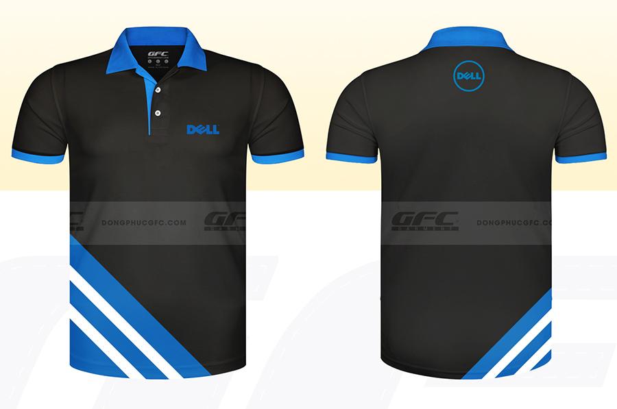 Mẫu áo thun công sở DELL Việt Nam