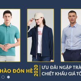 Ưu đãi may đồng phục giá tốt 2020