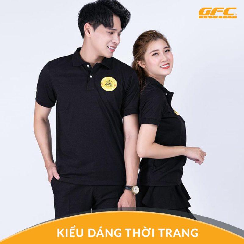 Mẫu áo thun nhân viên đẹp tại Hồ Chí Minh