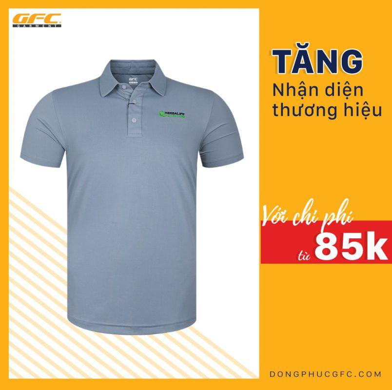 May áo thun Polo thời trang tại Hồ Chí Minh