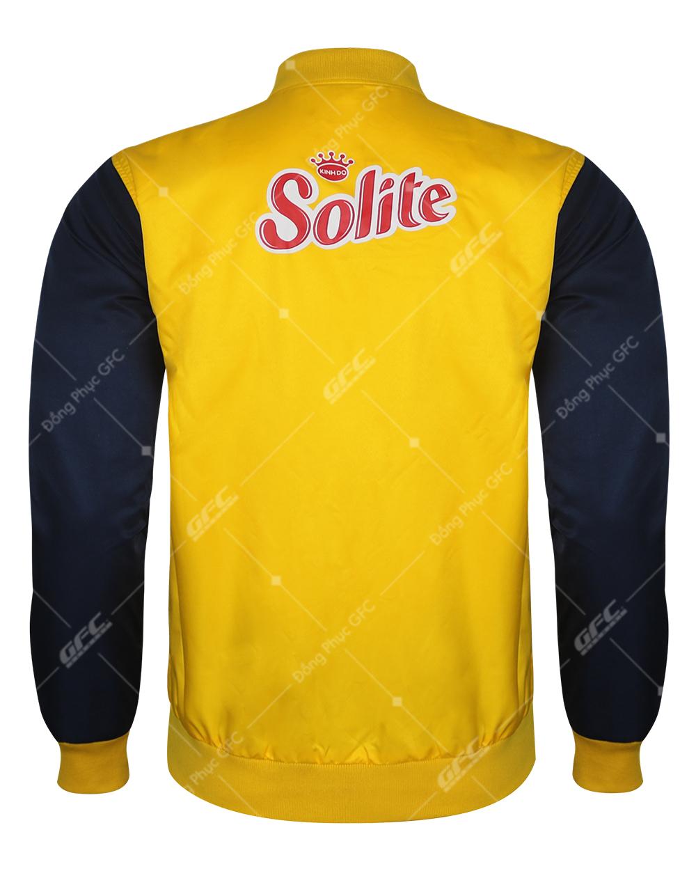 May áo khoác đồng phục Bình Dương