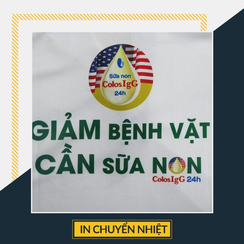 In chuyển nhiệt trên áo Hồ Chí Minh