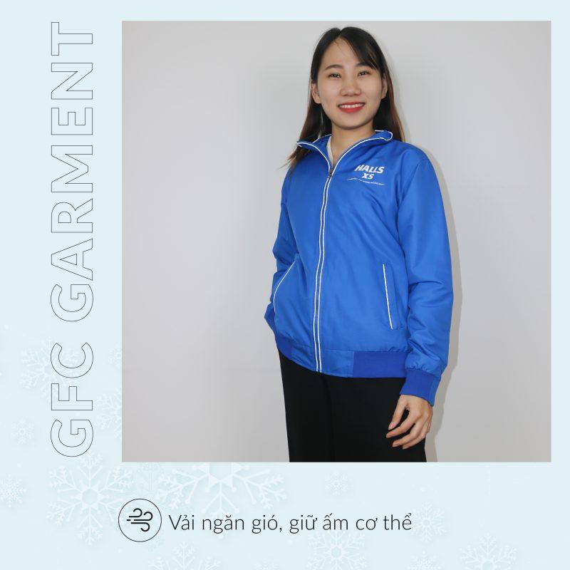 May áo khoác quảng cáo, quà tặng tại Hồ Chí Minh