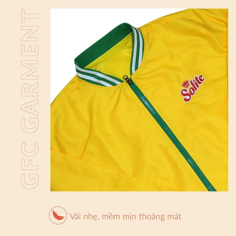 Kiểu áo khoác quảng cáo đẹp tại Biên Hòa