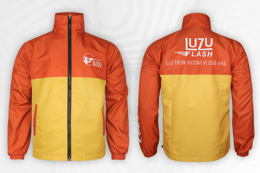 May áo khoác đồng phục tại Quận 7