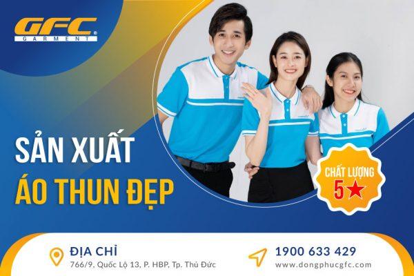 Công ty sản xuất áo thun đẹp tại Hồ Chí Minh
