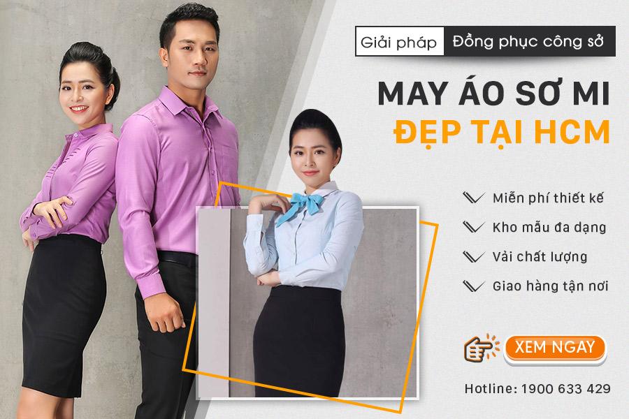 May áo sơ mi đẹp tại Hồ Chí Minh