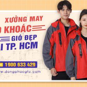 Địa chỉ may áo khoác gió đẹp tại Hồ Chí Minh